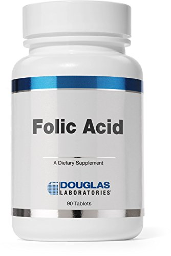 Douglas Laboratories® - Folic Acid 400 mcg. - Water Soluble B Vitamin to Support Energy Production and Pregnancy* - 90 Tablets