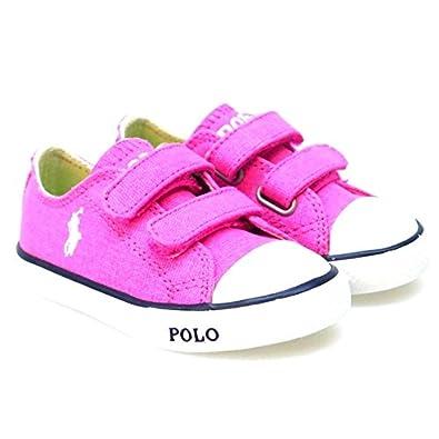 Ralph Lauren Zapatos Primeros Pasos Lonas Carson EZ Fuxia 20 hEKsb0