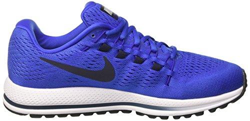 Nike Mens Air Zoom Vomero 12 Scarpe Da Corsa Blu (mega Blue / Obsidian-concord-white)