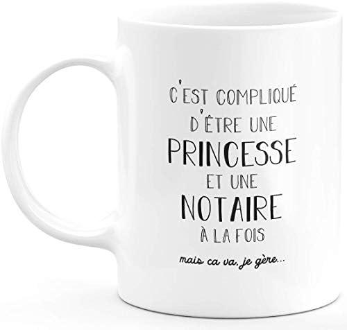 Mug notaire Princesse – Cadeau…