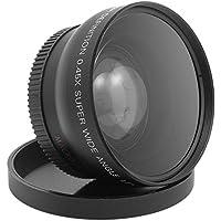 SODIAL(R) 52MM 0.45X Wide Angle Lens for HDV-G02 Digital Camera Black