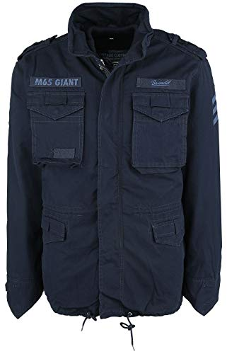 Giant Navy Brandit M65 Giacca Scuro Mimetico Invernale 6r6wZ54q
