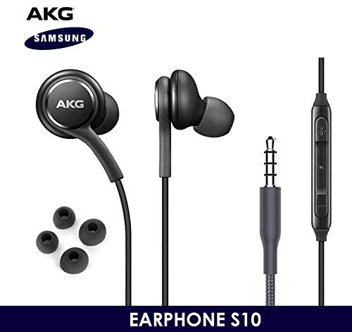 OEM ElloGear Earbuds Stereo Headphones for Samsung Galaxy S10 S10e Plus Cable - Designed…
