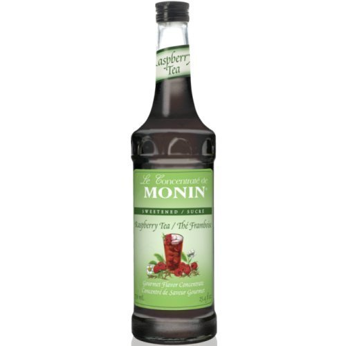 Monin Syrups Raspberry Tea Concentrate Syrup, 750 ml botttle by Monin