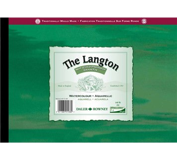 Langton Pad Not A4 300gsm 12 Sheets Daler Rowney na