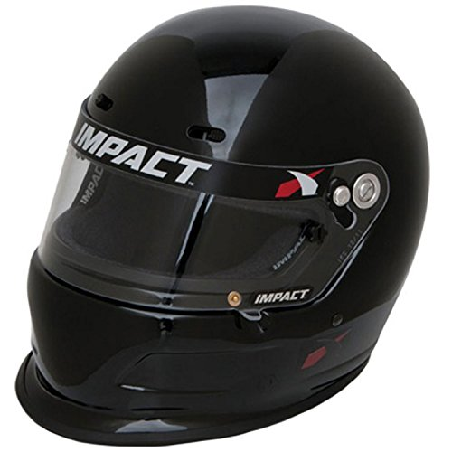 Impact Racing Helmet - Charger SNELL15 MED Black