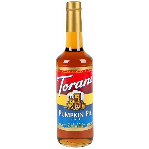 (Torani Pumpkin PIE Syrup, 750 mL)