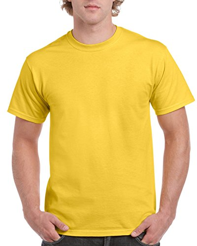 (Gildan Men's Ultra Cotton Tee, Daisy)