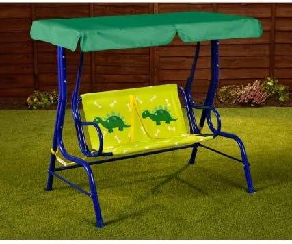 CrazyShop1 Increíble Hamaca para niños de 2 plazas, Resistente, para jardín, Patio, relajación, Asiento de Columpio, Dinosaur: Amazon.es: Jardín