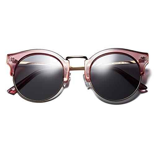 de de de Uso la Anti polarizadas Conducir Gran Sol de Vacaciones tamaño la UV de Sol Las de Vendimia Gafas Gafas de Las Mujeres de Accesorios Compras Las señoras Manera Ideales para CJJC 0wq46tax