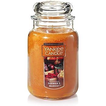 Yankee Candle Large Jar Candle, Farmers Market