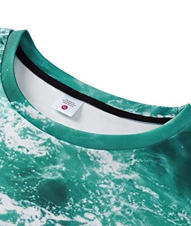 Sea Tees Fresco Grafiche shirt Stampato Uideazone Mens Water Il T Modello Hanno 3d ZPHvwxqT6