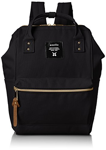 - [Anero] [Official] Poly Canvas Cap Mini Backpack AT-B0197B Black