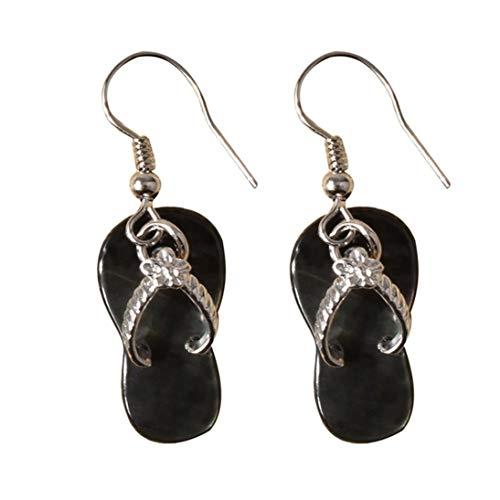 Baynne Fashion Abalone Shell Earrings Slipper Pendant Drop Dangle Earrings Jewelry