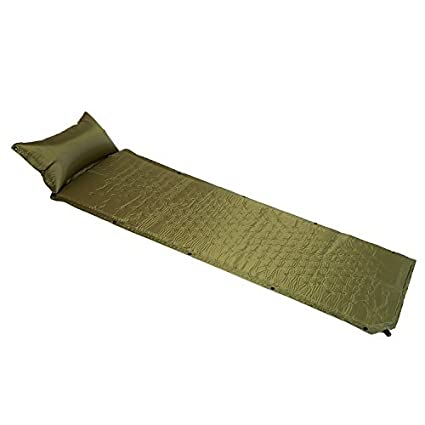 b388b65a52e9 Weanas Outfitters Lightweight Sleeping Self Inflating Air Pad with  Inflatable Pillow, Comfortable Mattress Sleeping Pads, for Camping,  Backpacking, ...