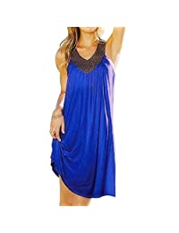 iecool Women's Studded Beach Dress