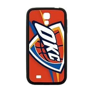 Happy OKC team logo Cell Phone Case for Samsung Galaxy S4