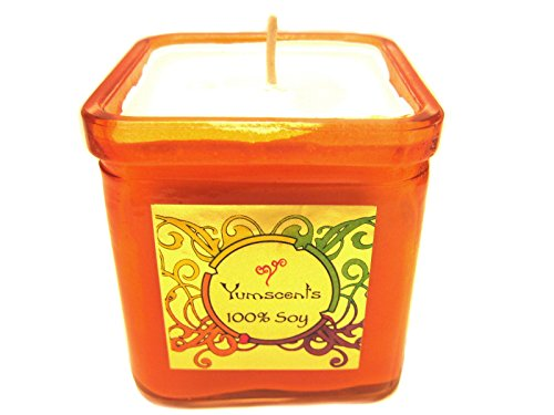 Review Yumscents Smoke and Odor Eliminator Soy Candle in Decorative Orange By Yumscents by Yumscents