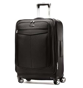 "Samsonite Silhouette 12 25"" Spinner Luggage Black"
