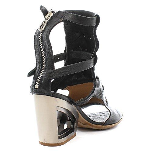 A.S.98 Zapatos Altos 957004-101 Nero Airstep as98 NERO+NERO+DESERTO