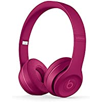 Beats by Dr. Dre Solo3 On-Ear Wireless Bluetooth Headphones (Neighborhood Collection) (Brick Red)