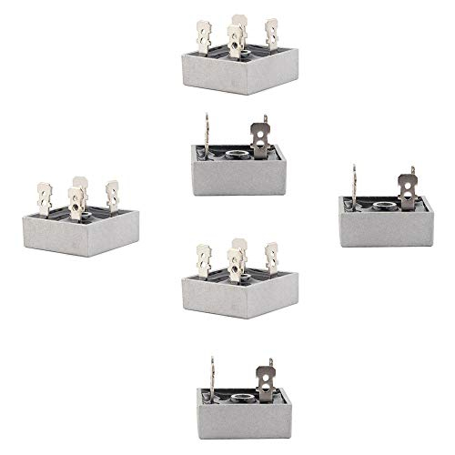 BestTong KBPC2504 Bridge Rectifier Diode 25A 400V Single Phase Full Wave 25 Amp 400 Volt Electronic Silicon Diodes Pack of 6 ()
