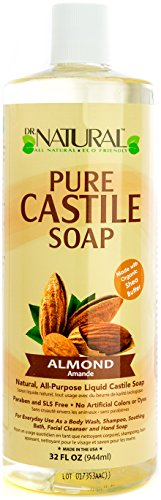 Dr. Natural Pure-castile Liquid Soap, Almond, 32 Ounce