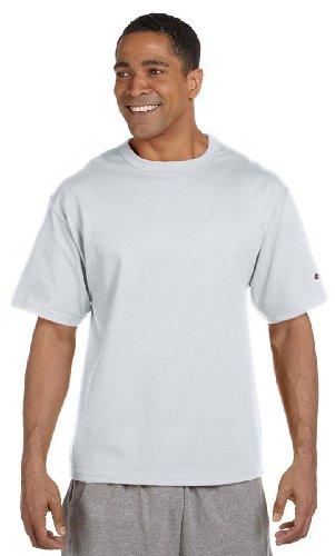 - Champion Heritage 7 oz. Jersey T-Shirt, Medium, SILVER GRAY