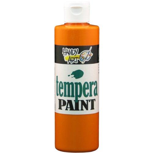 handy-art-tempera-paint-8-ounce-orange