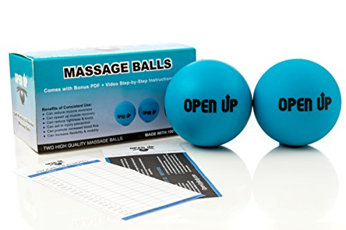 Massage Balls: The Trigger Point Tool for Tight Muscle mass, Mobility, Flexibility, Stress Aid, Myofascial Launch, and Poor Posture (Plus Bonus PDF and Video Step-by-Step Instructional Information) – DiZiSports Store