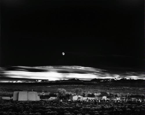 Moonrise, Hernandez, New Mexico, 1941 by Ansel Adams Publishing Rights Trust (1997-09-01)