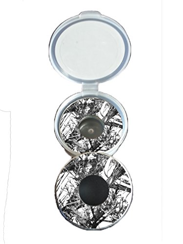 Snow Camo Pitching Washers W/Case by Inkin It Up