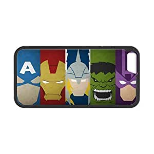 At-Baby Custom The Avengers Pattern Phone Case Phonecase Cover For iPhone 6 4.7 (Laser Technology) TT1 by Maris's Diary