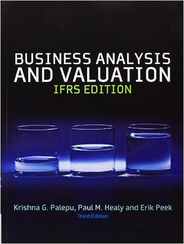 Business Analysis & Valuation: Text And Cases PDF Descarga gratuita
