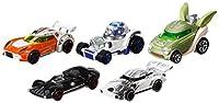 Mattel CGX36 - Hot Wheels Star Wars Character Car 5er Pack