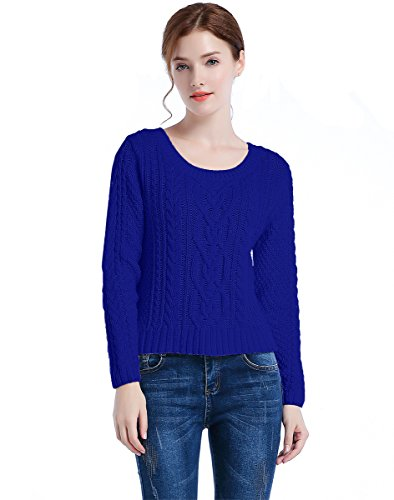 100% Cotton Pullover Sweater - 5