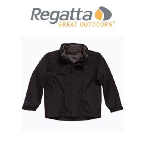 a06f5d780 Regatta Patriot Boys 3 in 1 Coat and Fleece - Black/ Iron: Amazon.co.uk:  Clothing