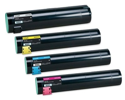 - Clearprint C930H2CG, C930H2KG, C930H2MG, C930H2YG Compatible Color Toner Set for Lexmark C935dn, C935dtn, C935dttn, C935hdn printers