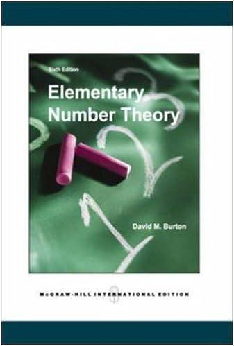 Englanninkieliset kirjat ladataan ilmaiseksi Elementary Number Theory 0071244255 PDF