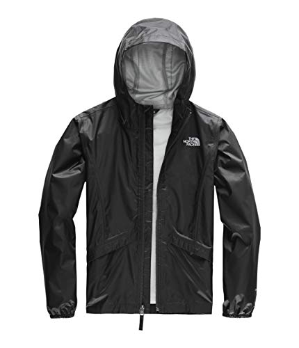 The North Face Kids Girl's Zipline Rain Jacket (Little Kids/Big Kids) TNF Black X-Large
