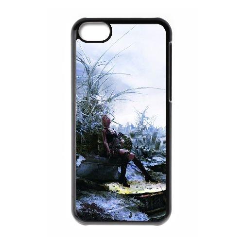 Aya Brea Parasite Eve coque iPhone 5C Housse téléphone Noir de couverture de cas coque EBDOBCKCO11926