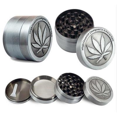 Metal Silver Tobacco grinder $...