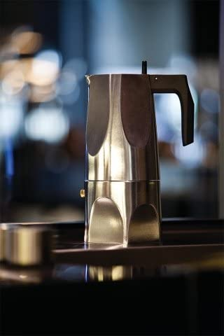 Alessi Ossidiana Espresso Coffee Maker 3 Cup