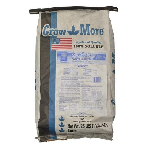 Sea Grow Flower and Bloom 25 lbs by Grow More