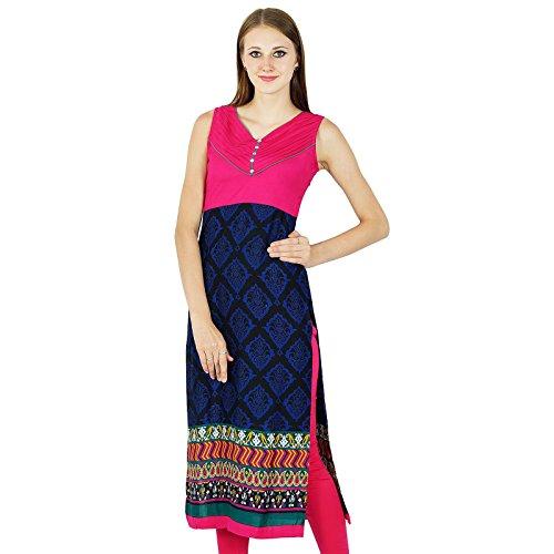 Kurti étnica india de Bollywood Kurta Mujer Varios superior de la túnica vestido