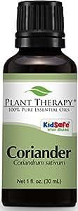 Plant Therapy Coriander Essential Oil. 100% Pure, Undiluted, Therapeutic Grade. 30 ml (1 oz).