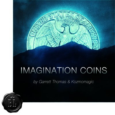 Imagination Coins (US Quarter) by Garrett Thomas and Kozmomagic