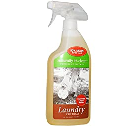Naturally Its Clean Laundry Stain Eraser, 24 Ounce -- 6 per case.