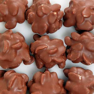 Peanut Chocolate Milk Cluster - Milk Chocolate Covered Maple Nut Clusters 1 Lb.