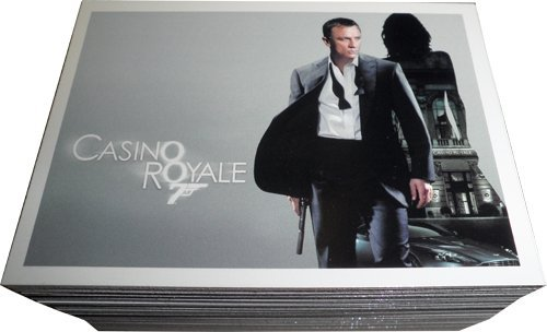 James Bond Archives 2014 Casino Royale Complete 99 Card Base Set from James Bond
